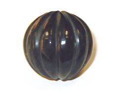 Z15422 15422 Cuenta de cuerno bola negro Innspiro