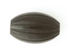 Z15426 15426 Cuenta de cuerno barril negro Innspiro
