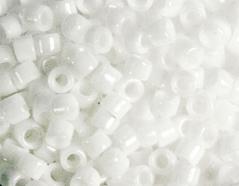 Z156041 156041 Z155041 155041 Cuentas japonesas cilindro Treasure opaco blanco Toho