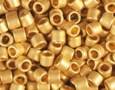 Z156712F 156712F Z155712F 155712F Cuentas japonesas cilindro Treasure autentico oro mate Toho