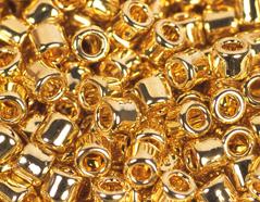 Z156715 156715 Z155715 155715 Cuentas japonesas cilindro Treasure autentico oro brillante Toho