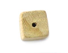 16047 Cuenta madera cuadrado blanco Innspiro