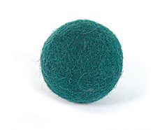 Z2740 Z2640 Z2340 Z1840 Z1640 2740 2640 2340 1840 1640 Fieltro de lana bola verde azulado Felthu