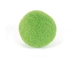 Z2743 Z2643 Z2343 Z1843 Z1643 2743 2643 2343 1843 1643 Fieltro de lana bola verde citrico Felthu