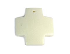16620 Z16620 Colgante madera cruz encerada blanca Innspiro