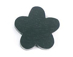 Z16661 16661 Cuenta madera flor encerada negra Innspiro