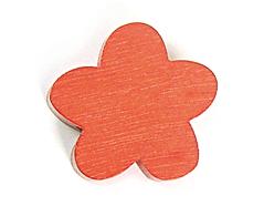 Z16664 16664 Cuenta madera flor encerada roja Innspiro