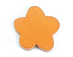 Z16669 16669 Cuenta madera flor encerada naranja Innspiro