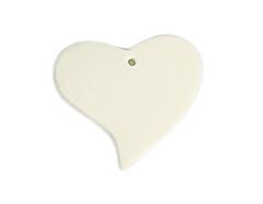 16700 Z16700 Colgante madera corazon encerada blanca Innspiro