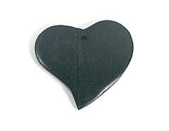 Z16701 16701 Colgante madera corazon encerada negra Innspiro