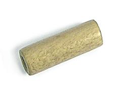 Z16722 16722 Cuenta madera encerada cilindro ocre Innspiro
