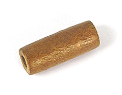 Z16723 16723 Cuenta madera encerada cilindro marron Innspiro