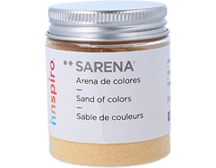 1709 Arena de colores mantequilla Sarena