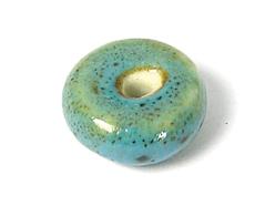 17106 Z17106 Cuenta ceramica disco azul Innspiro