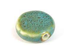 Z17112 17112 Cuenta ceramica cuadrado azul Innspiro