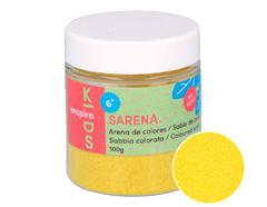 1712 Arena de colores amarillo fuerte Sarena