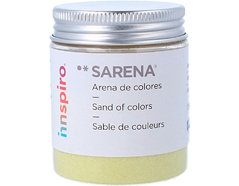 1713 Arena de colores verde claro Sarena - Ítem