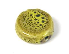 Z17143 17143 Cuenta ceramica disco amarillo Innspiro