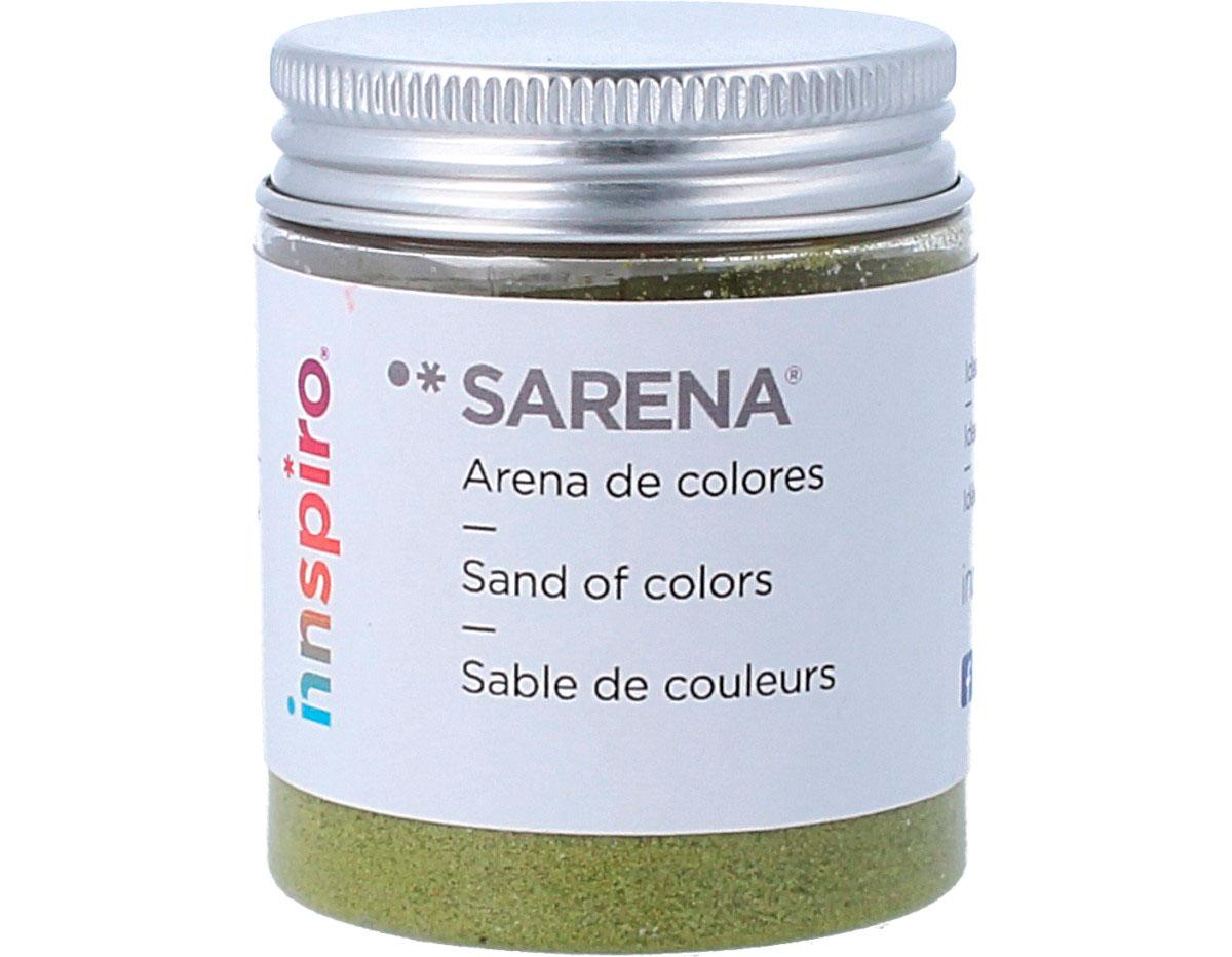 1715 Arena de colores verde amarillo Sarena