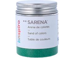 1717 Arena de colores verde hoja Sarena