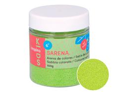 1719 Arena de colores verde acido Sarena - Ítem