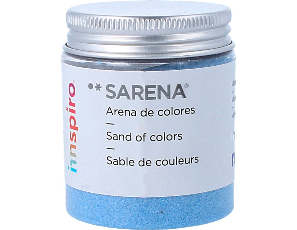 1724 Arena de colores azul infantil Sarena