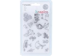 17325 Set sellos acrilicos Bebe 9 5x14 5cm Innspiro