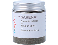 1735 Arena de colores verdinegro Sarena