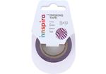17404 Cinta masking tape Washi foil formas rosa 15mm x10m Innspiro - Ítem1
