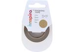 17411 Cinta masking tape Washi foil dorado 15mm x10m Innspiro - Ítem1