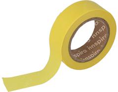17426 Cinta masking tape Washi amarillo 15mm x10m Innspiro