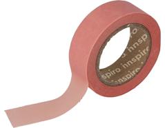 17428 Cinta masking tape Washi carne 15mm x10m Innspiro