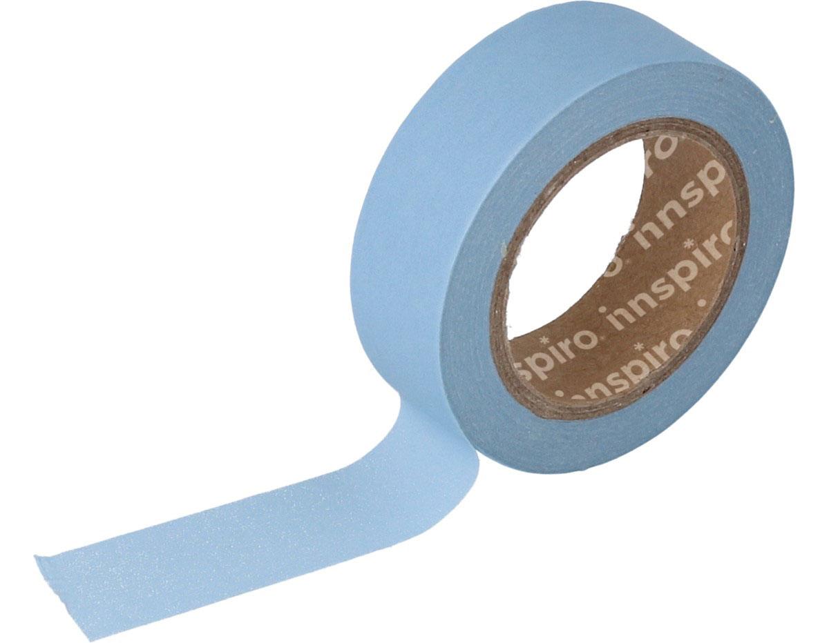 17430 Cinta masking tape Washi azul claro 15mm x10m Innspiro