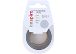17470 Cinta masking tape purpurina plateado15mm x6 5m Innspiro - Ítem1