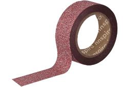 17472 Cinta masking tape purpurina rojo 15mm x6 5m Innspiro - Ítem