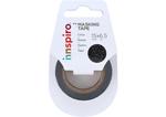 17473 Cinta masking tape purpurina negro 15mm x6 5m Innspiro - Ítem1