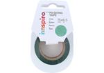17474 Cinta masking tape purpurina verde 15mm x6 5m Innspiro - Ítem1