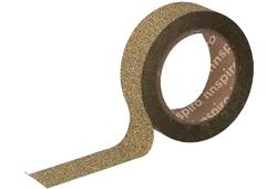 17475 Cinta masking tape purpurina dorado 15mm x6 5m Innspiro