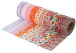 17513 Set 10 cintas masking tape Washi Serie floral Innspiro - Ítem1