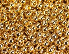 Z180715 180715 Cuentas japonesas rocalla autentico oro brillante Toho
