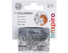 18203 Cinta washi tape para colorear COLORING Circo Innspiro