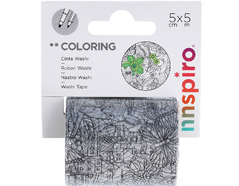 18204 Cinta washi tape para colorear COLORING Bosque Innspiro