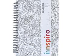 18301 Cuaderno de bocetos con lapiz COLORING Innspiro