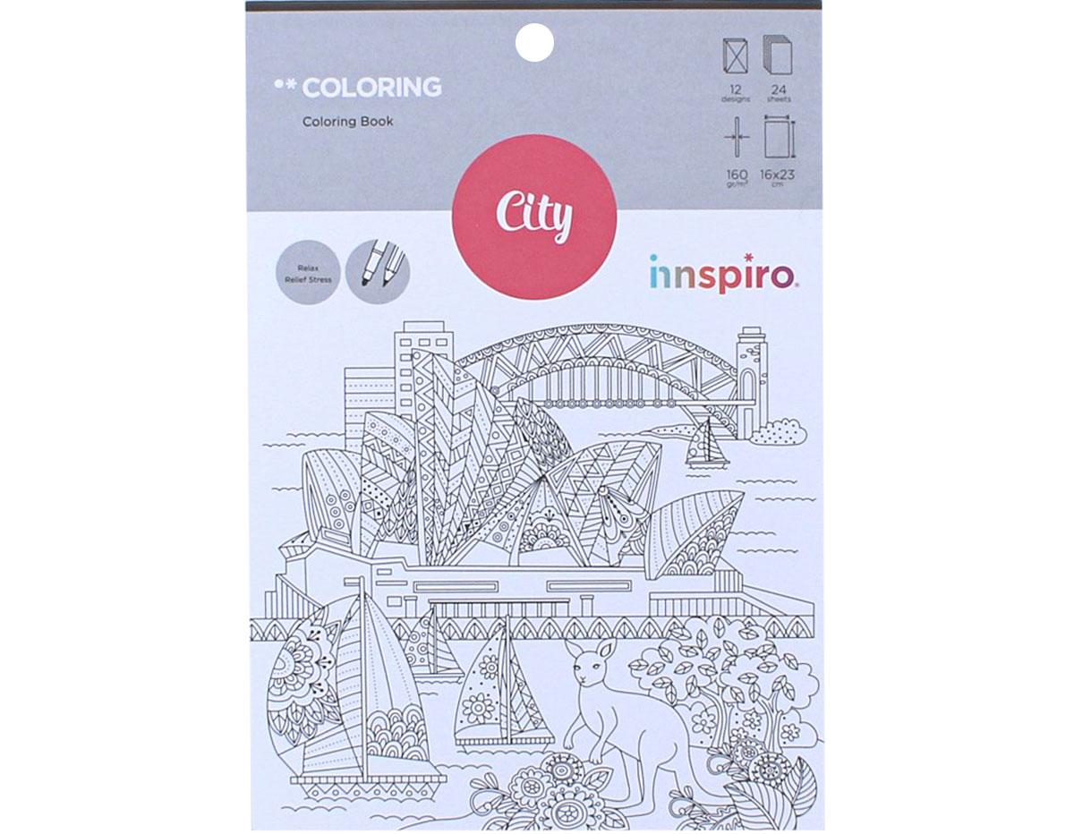 18403 Libro para colorear COLORING City and Travel Innspiro