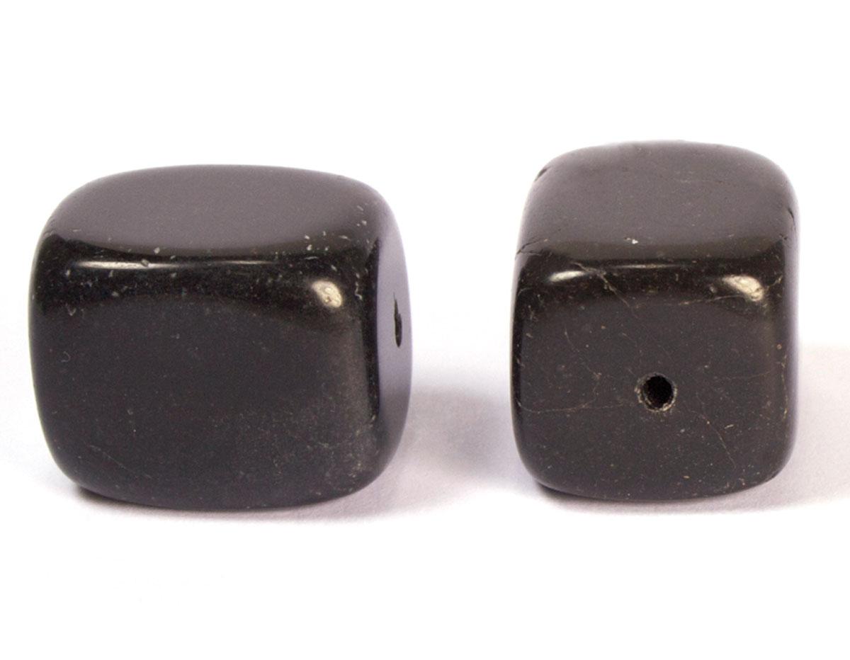 19120 Cuenta semipreciosa piedra onix negro Innspiro