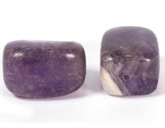 19121 Cuenta semipreciosa piedra amatista Innspiro