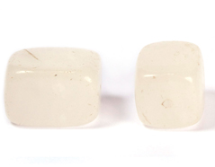 19127 Cuenta semipreciosa piedra piedra blanca Innspiro