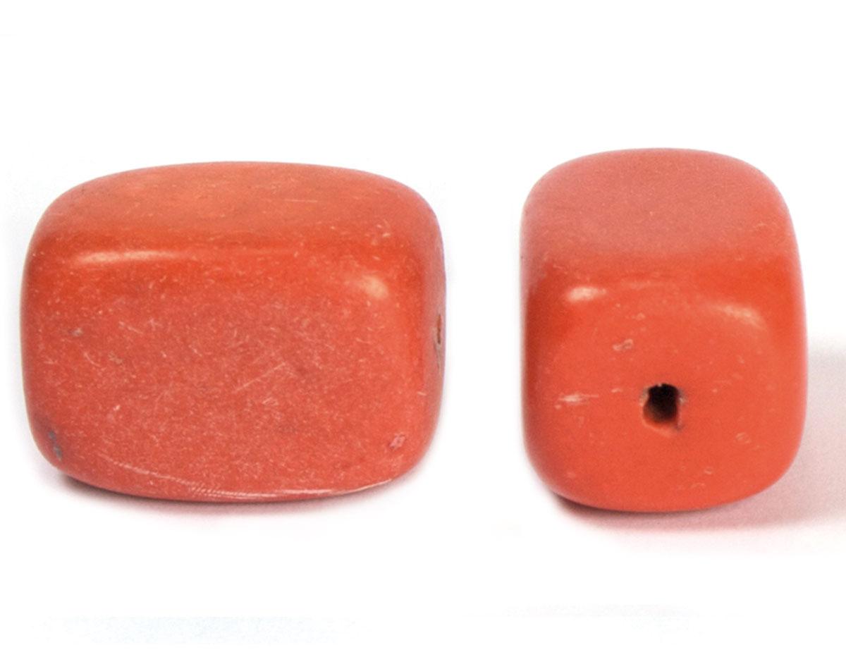 19128 Cuenta semipreciosa piedra coral Innspiro