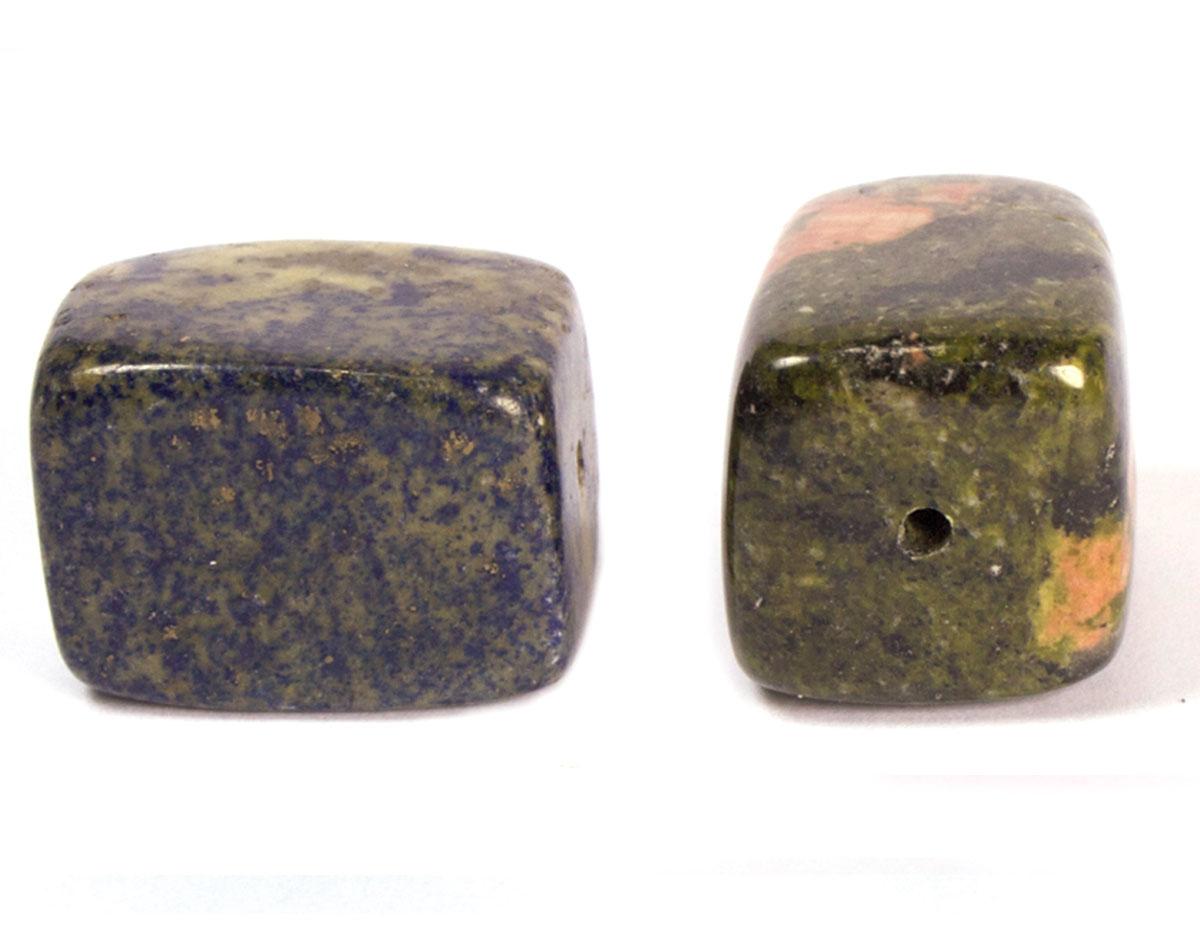 19129 Cuenta semipreciosa piedra unakita Innspiro