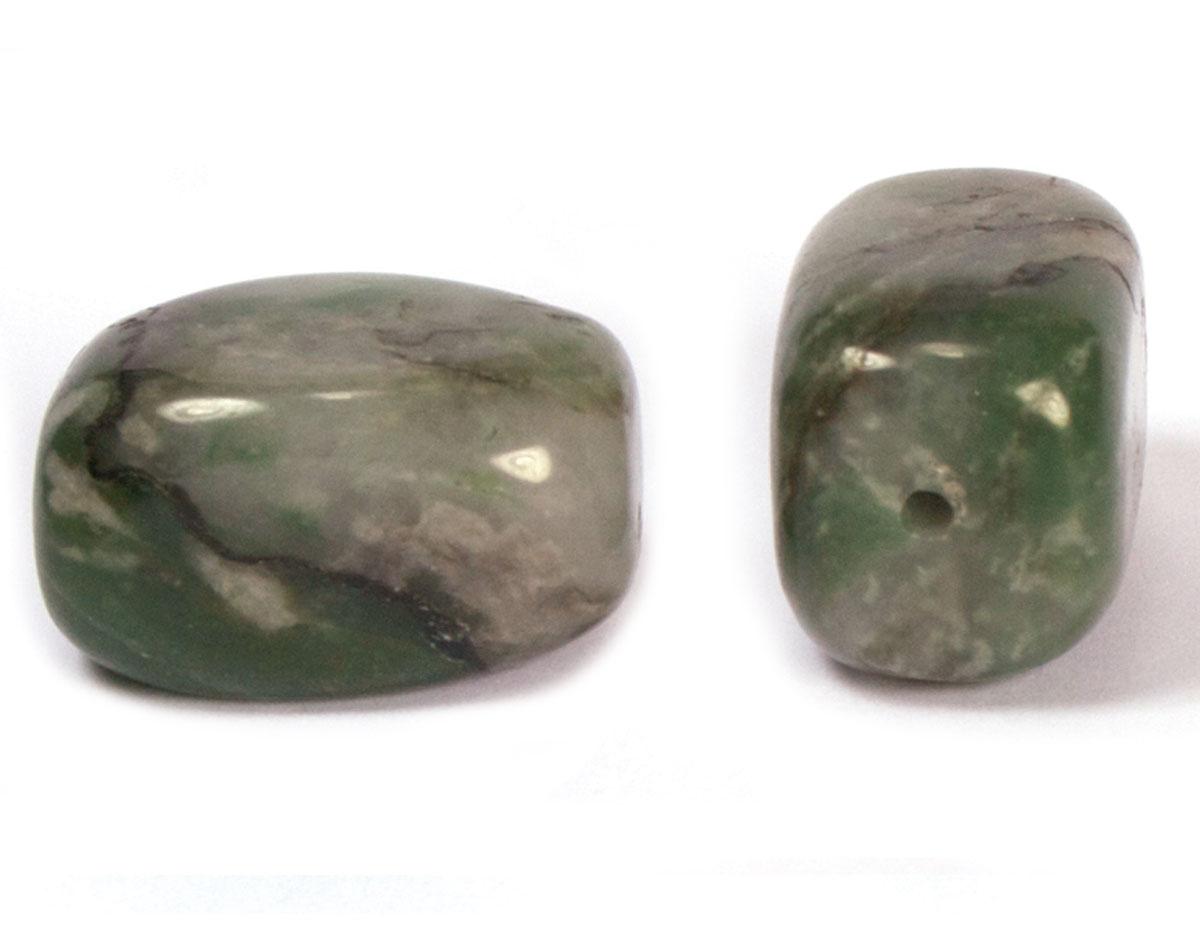 19130 Cuenta semipreciosa piedra jade africano Innspiro